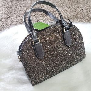 NWT Kate Spade Mini Reiley Glitter Purse